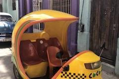 Coco taxi ad Havana
