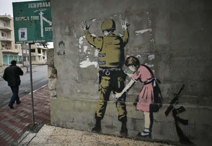 Il soldato israeliano e la bambina