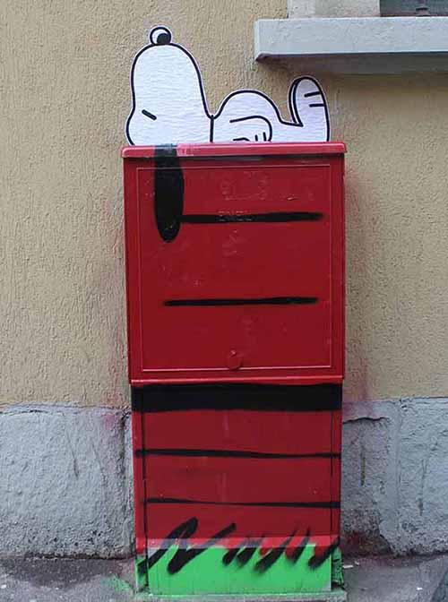 Centralina dell'Enel (Snoopy)