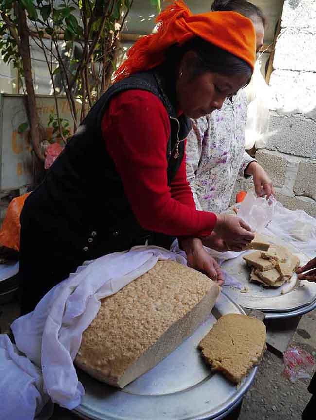 Pane che sembra polenta
