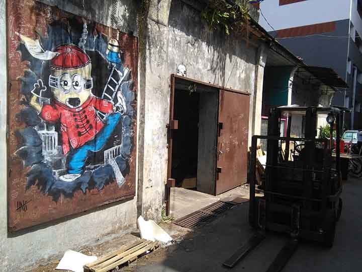 Murale industriale