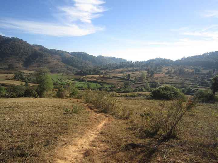 Trekking da Kalaw