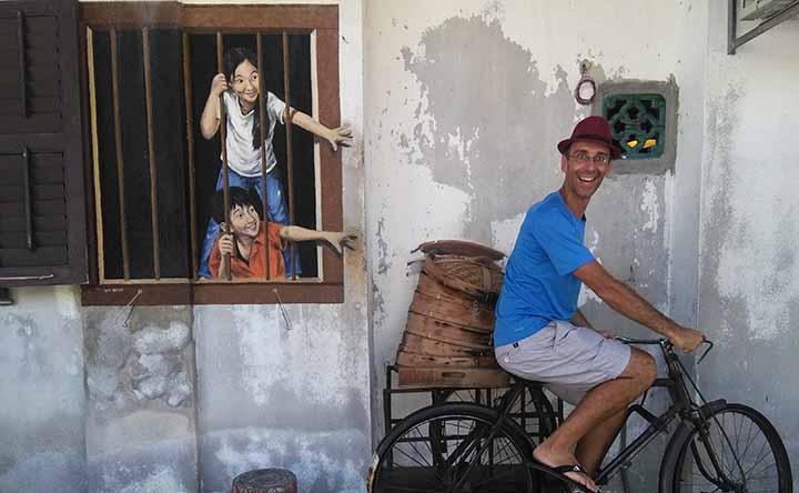Street art (& food) a Penang, Malesia