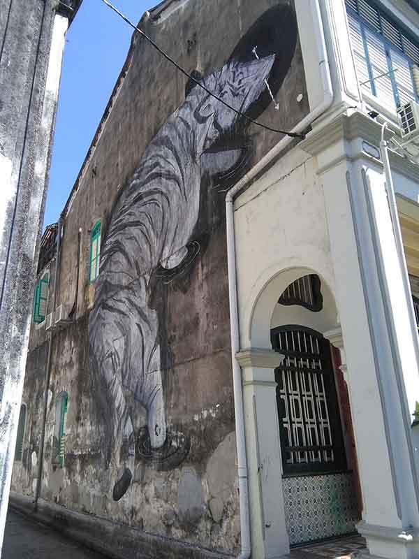 Murale della tigre