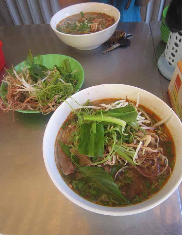 bun bo Hué - Saigon