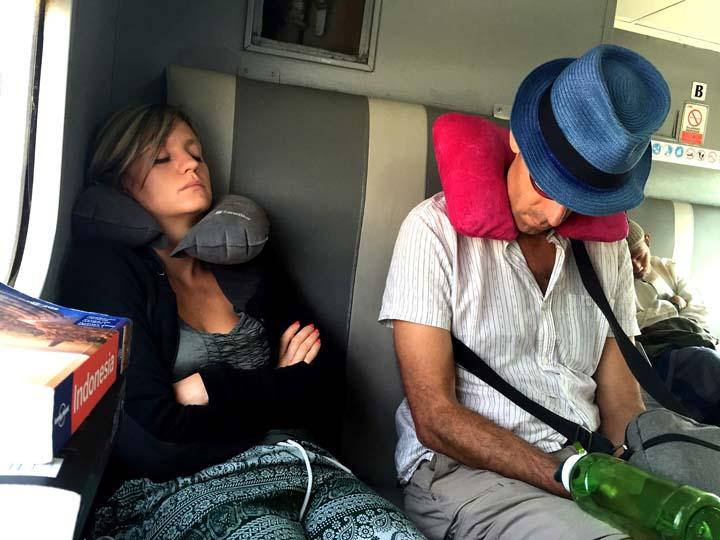 Pennica in treno